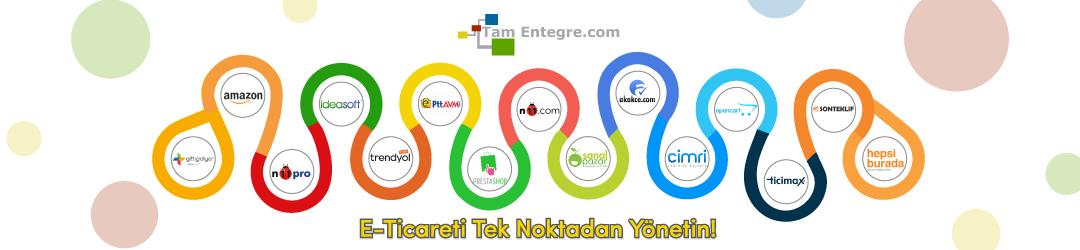 Tüm E-Ticaret Operasyonlarınız Tek Panelde!